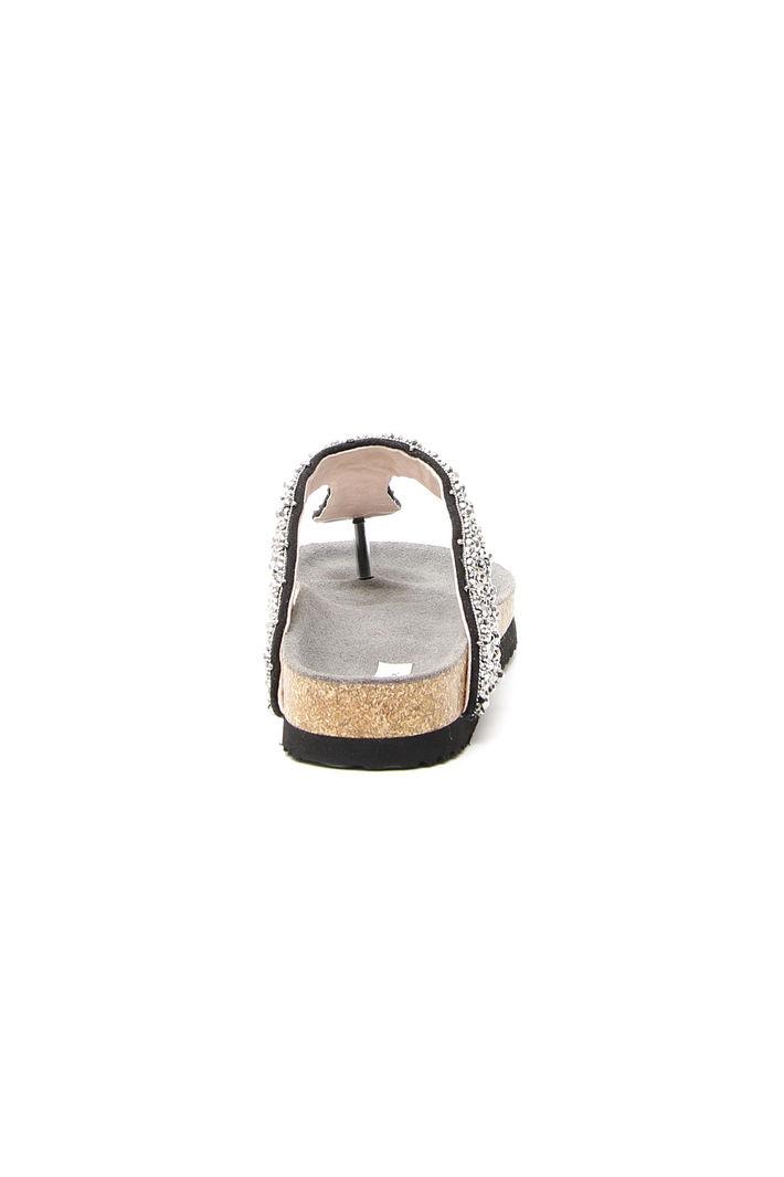 Ciabatta con perline ricamate Fashion Market