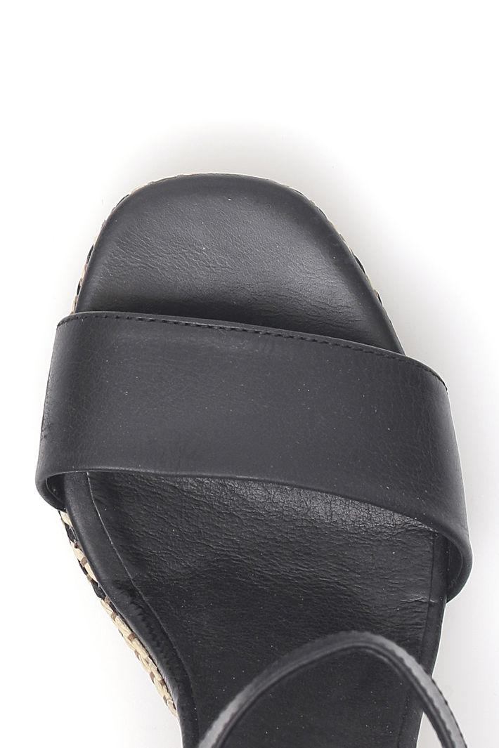 Sandali con tacco fantasia Fashion Market