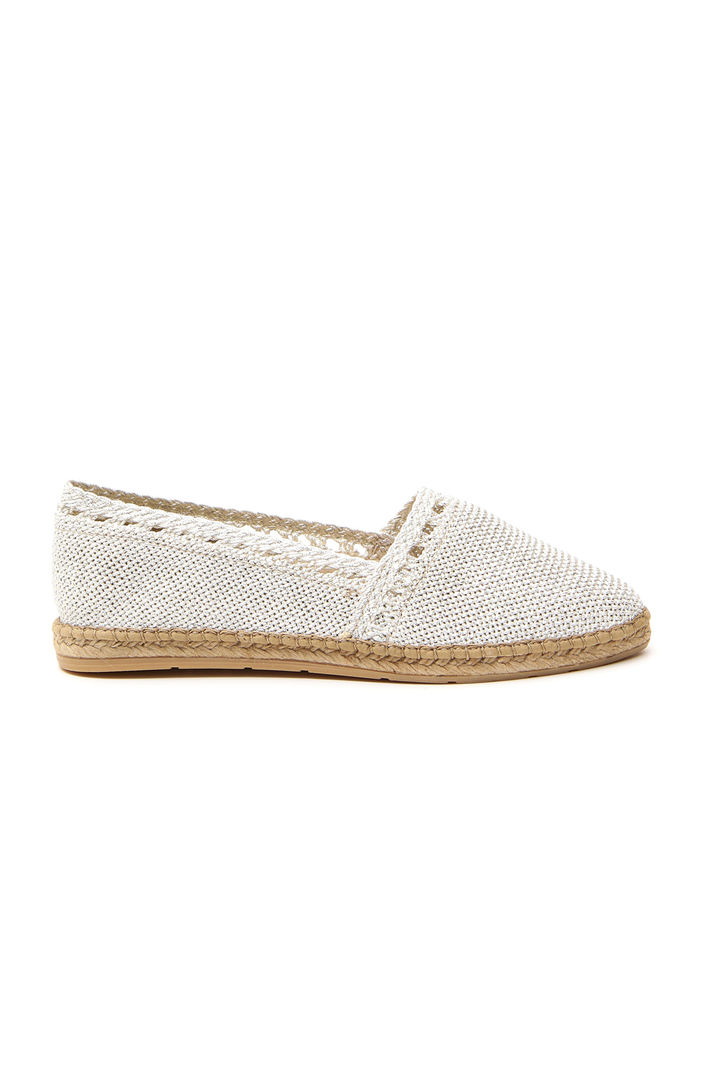 Espadrillas in tessuto lurex Fashion Market