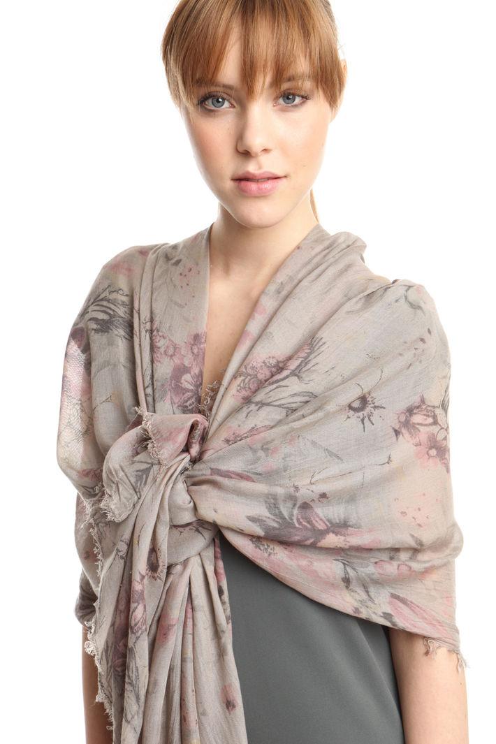 Sciarpa in tessuto stampato Fashion Market