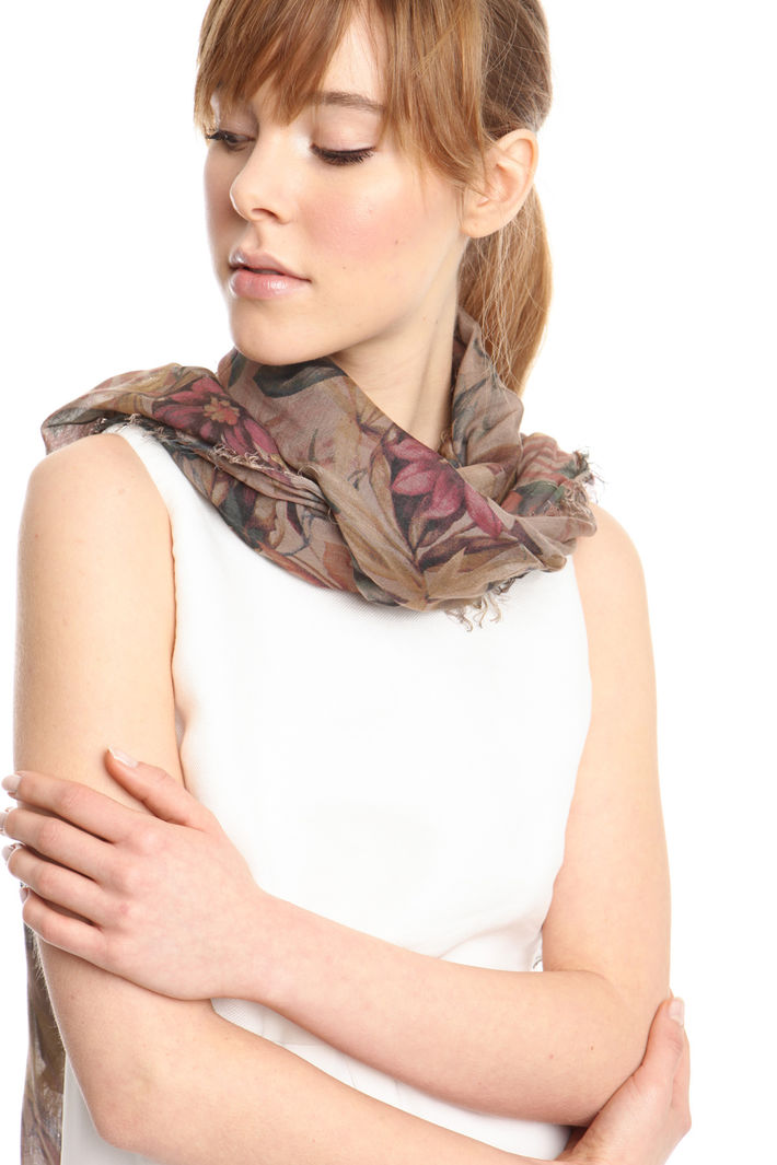 Sciarpa a fiori Fashion Market