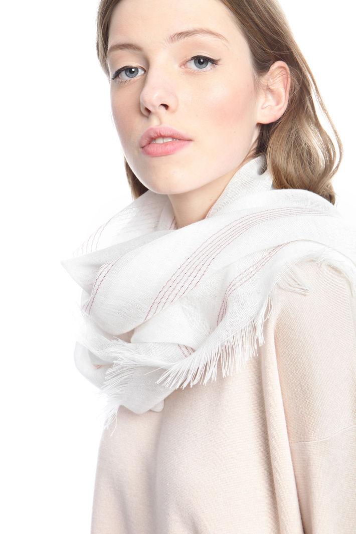 Sciarpa in lino e lurex Fashion Market