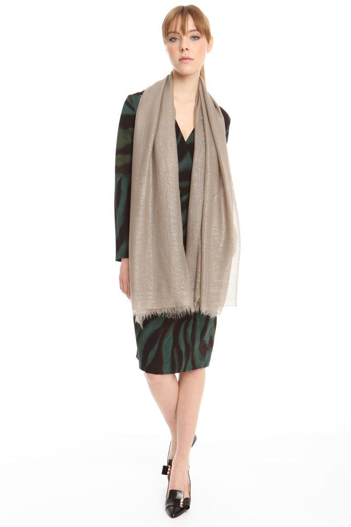 Sciarpa in tessuto garzato Fashion Market