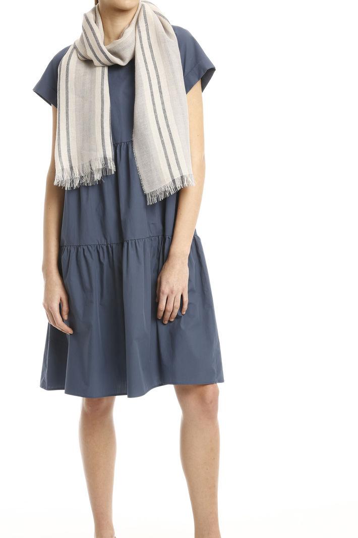 Sciarpa in lino e cotone Fashion Market