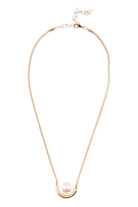 Collana con maxi perla Diffusione Tessile
