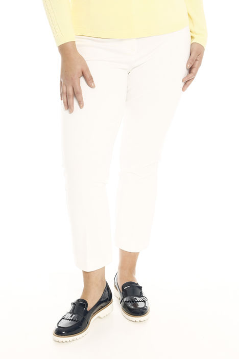 Pantalone cropped in jersey Diffusione Tessile