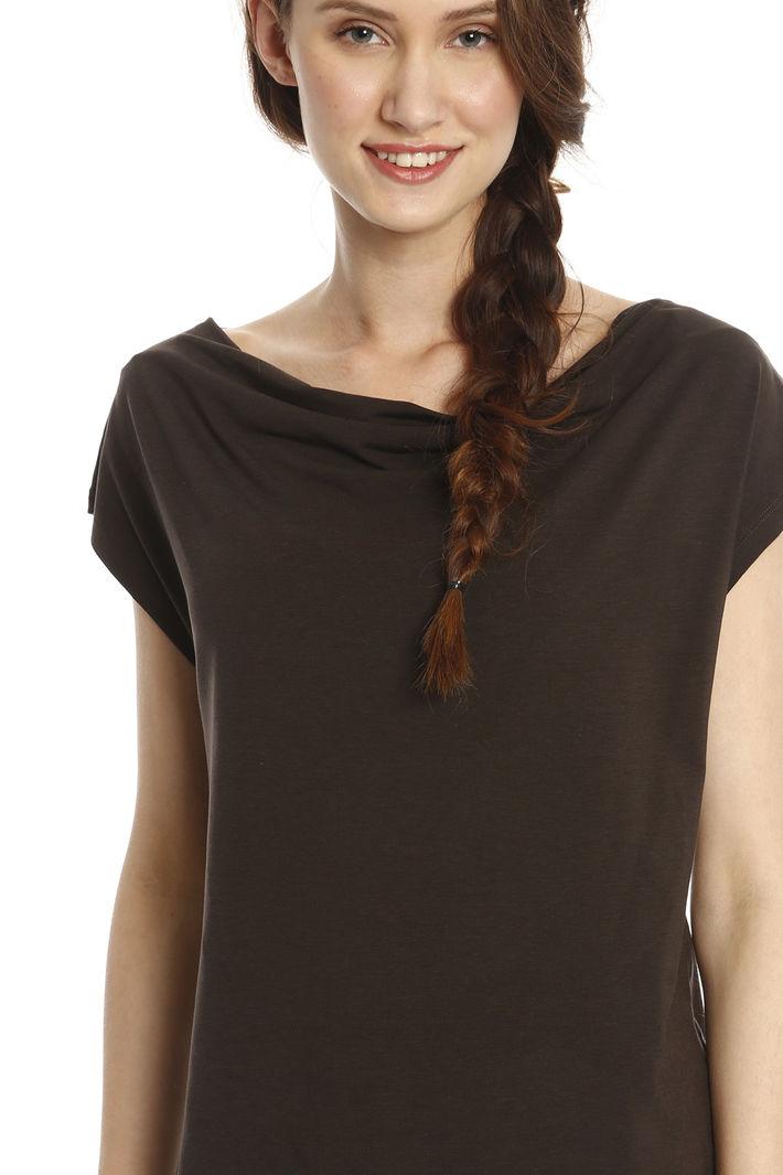 ... T-shirt con scollo morbido Diffusione Tessile ...
