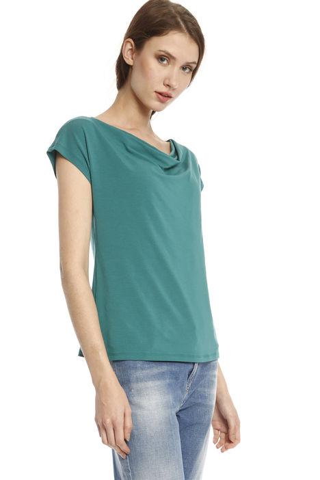 T-shirt con scollo morbido Diffusione Tessile