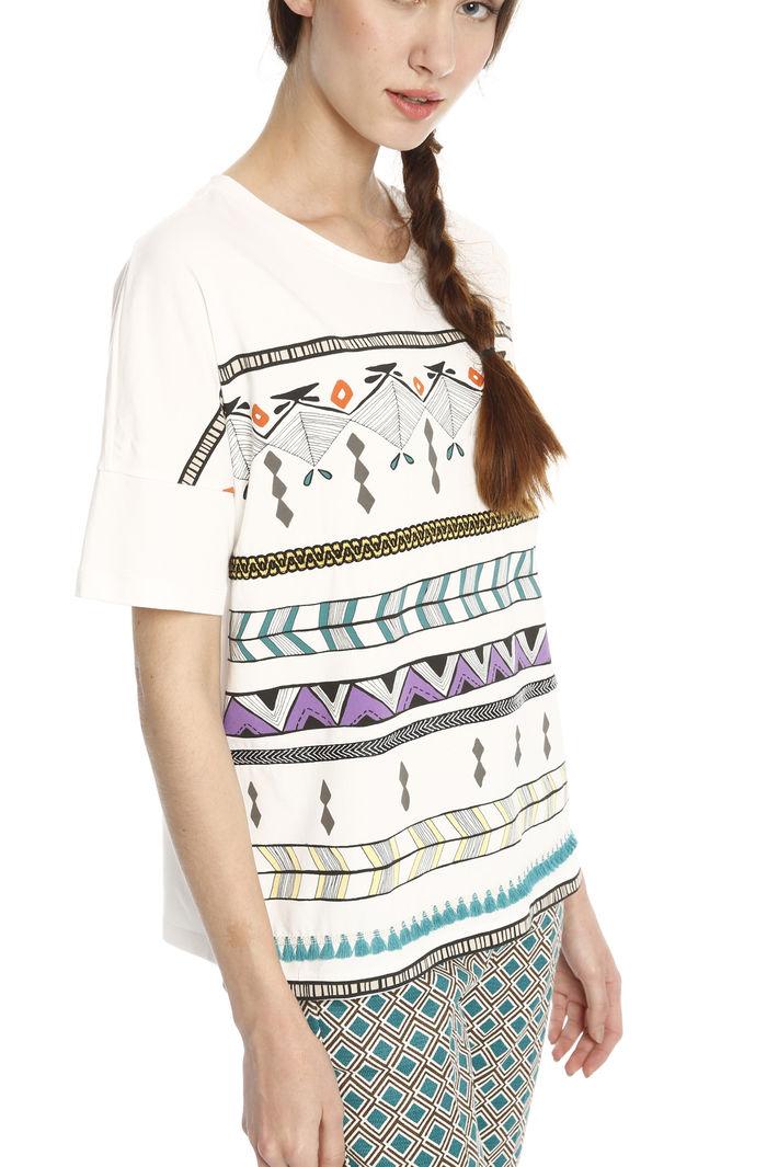 ... T-shirt con passamaneria Diffusione Tessile