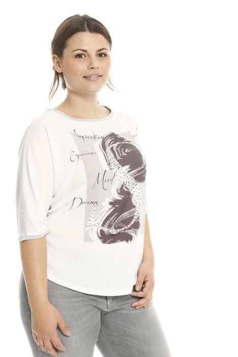 T-shirt con maniche a kimono Diffusione Tessile