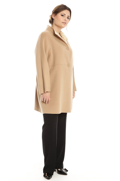 Cappotto in misto lana Diffusione Tessile