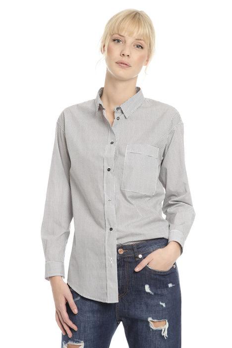 Camicia con doppia fantasia Diffusione Tessile