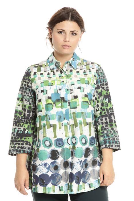 Camicia over multifantasia Diffusione Tessile