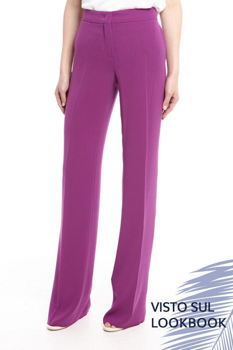 Pantalone in cady leggero Diffusione Tessile