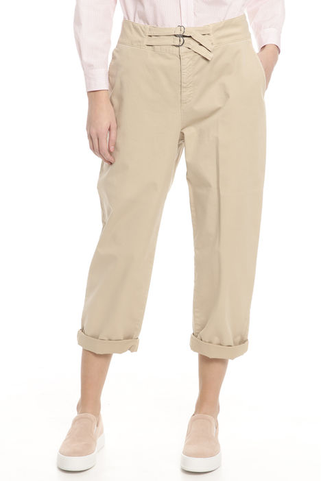 Pantaloni in gabardina Intrend