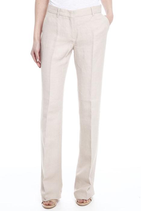 Pantalone in tessuto digaonale Intrend