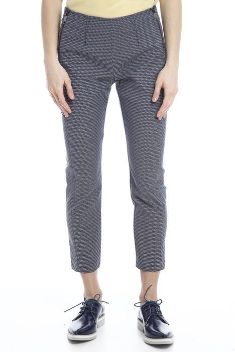 Pantaloni con doppia zip Intrend