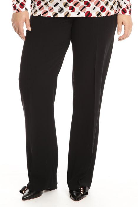 Pantalone in crepe fluido Diffusione Tessile