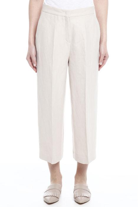Pantalone in twill di lino Diffusione Tessile