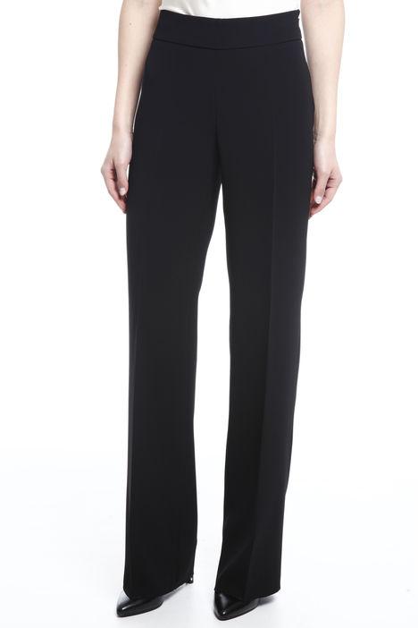 Pantalone dritto in triacetato Diffusione Tessile
