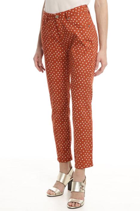 Pantaloni in cotone stretch Diffusione Tessile