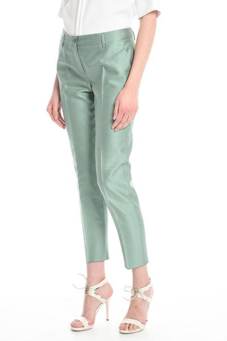 Pantalone in shantung Diffusione Tessile