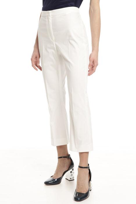 Pantaloni cropped con alamari Intrend
