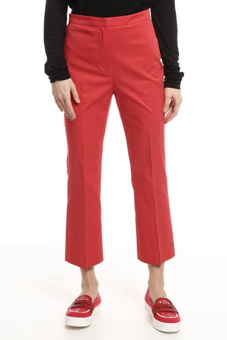 Pantaloni cropped con alamari Diffusione Tessile