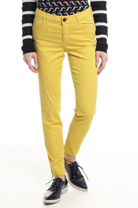 Pantaloni aderenti in cotone Diffusione Tessile