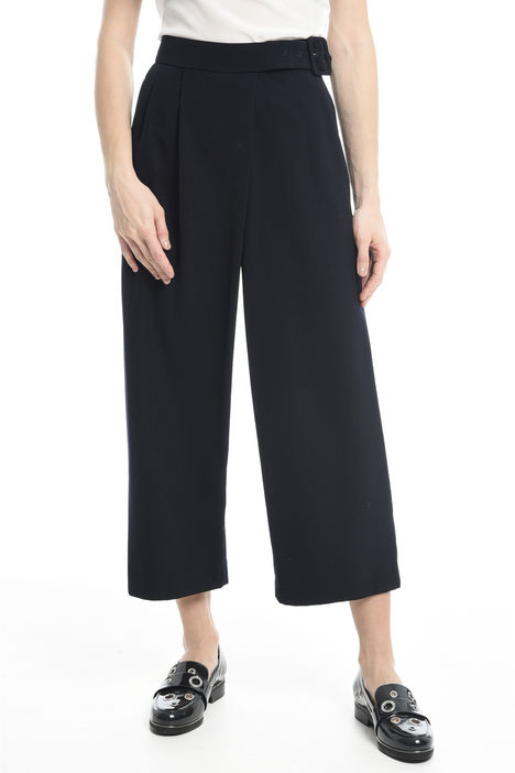 Pantaloni dritti con cintura Intrend