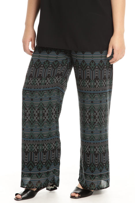Pantalone palazzo in chiffon Intrend