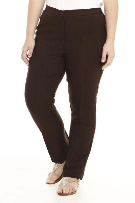 Pantalone in crepe di lino Intrend