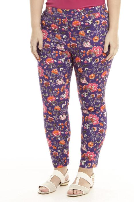 Pantalone in raso stampato Intrend