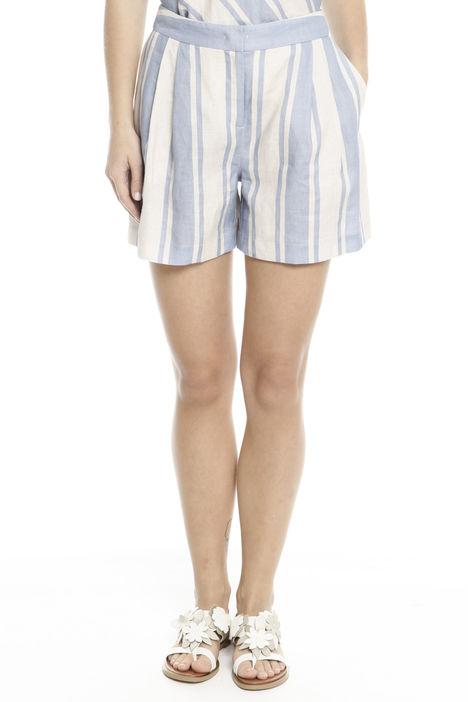 Shorts in puro lino Intrend