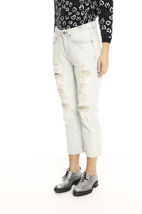 Jeans in denim linea dritta Intrend