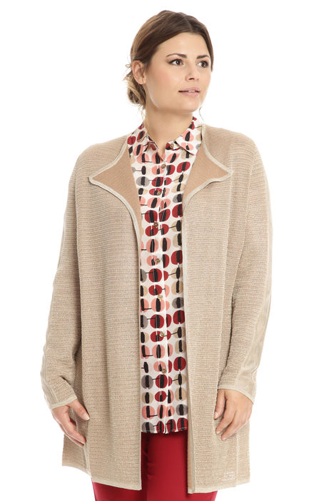 Cardigan in cotone lurex Intrend