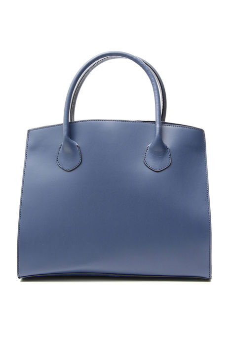 Shopping bag rigida in pelle Intrend