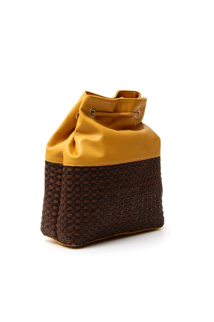 Secchiello bimateriale, giallo