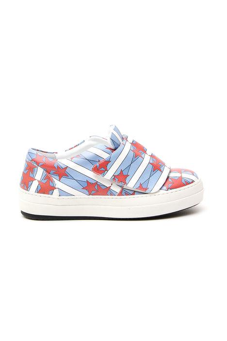 Sneakers con strap Diffusione Tessile