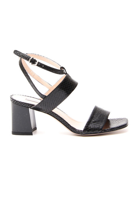 Sandali stampa pitone Diffusione Tessile