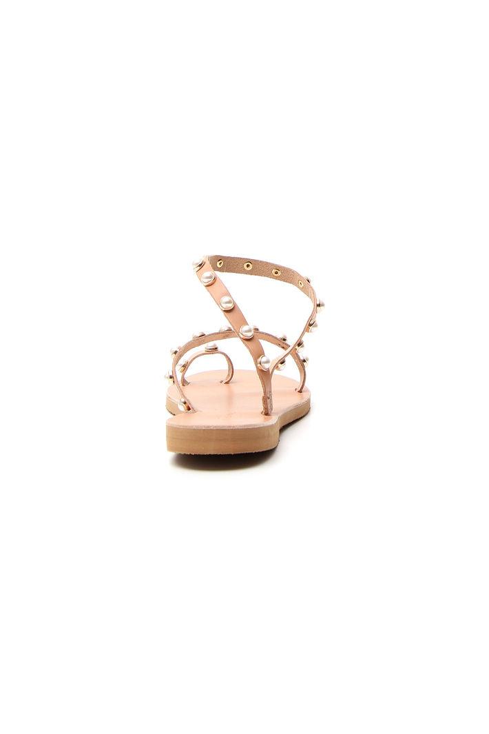 Sandali bassi con perle Fashion Market