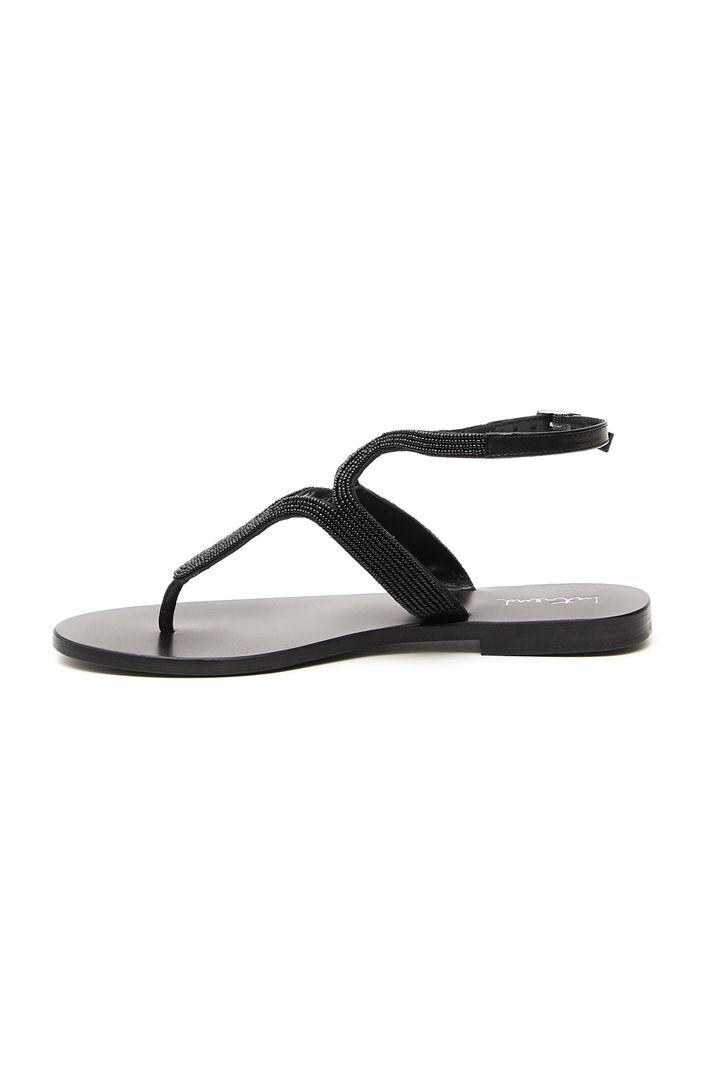Sandalo con perline ricamate Fashion Market