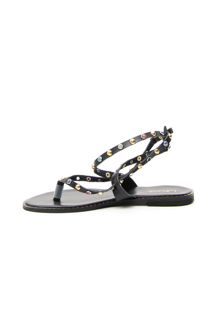Sandalo con borchie colorate Fashion Market