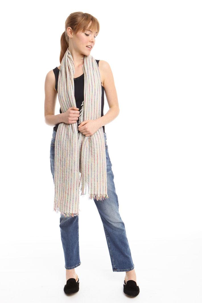 Sciarpa con impunture multicolor Fashion Market