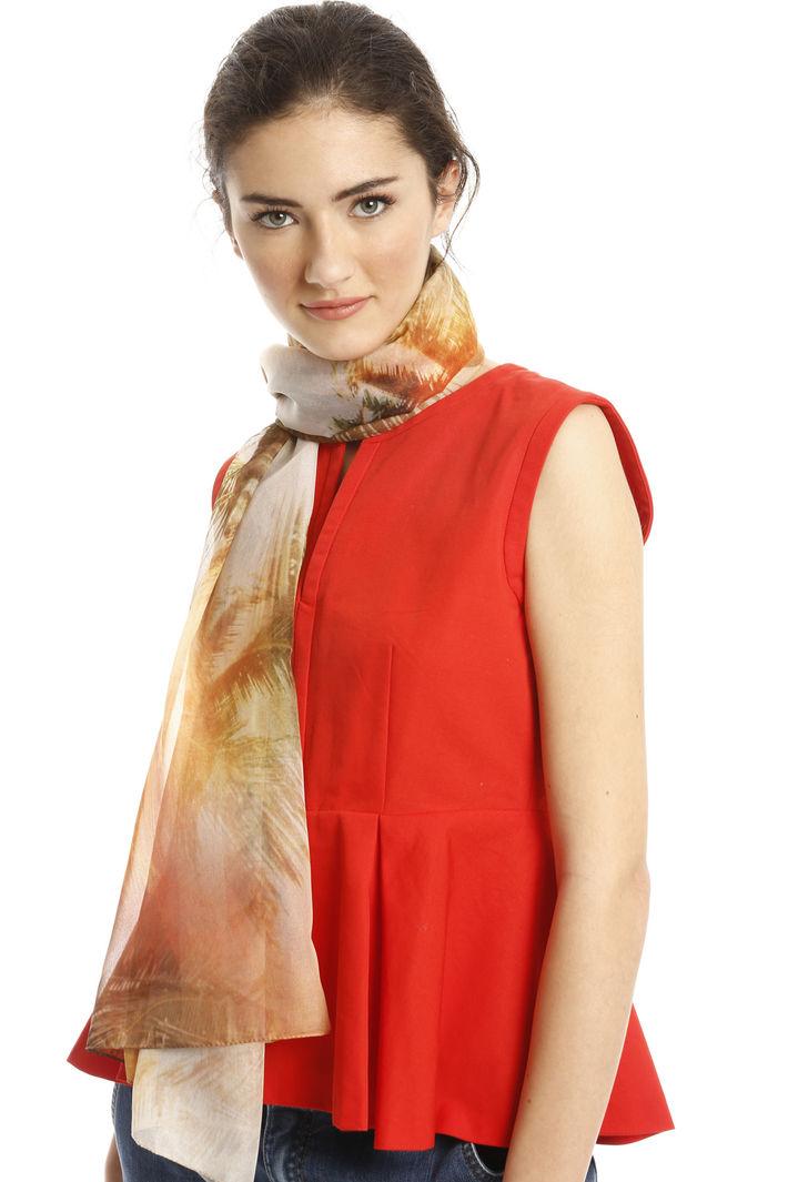 Sciarpa leggera stampata Fashion Market