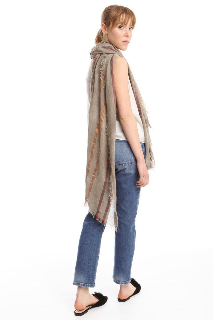 Sciarpa in viscosa rigata Fashion Market