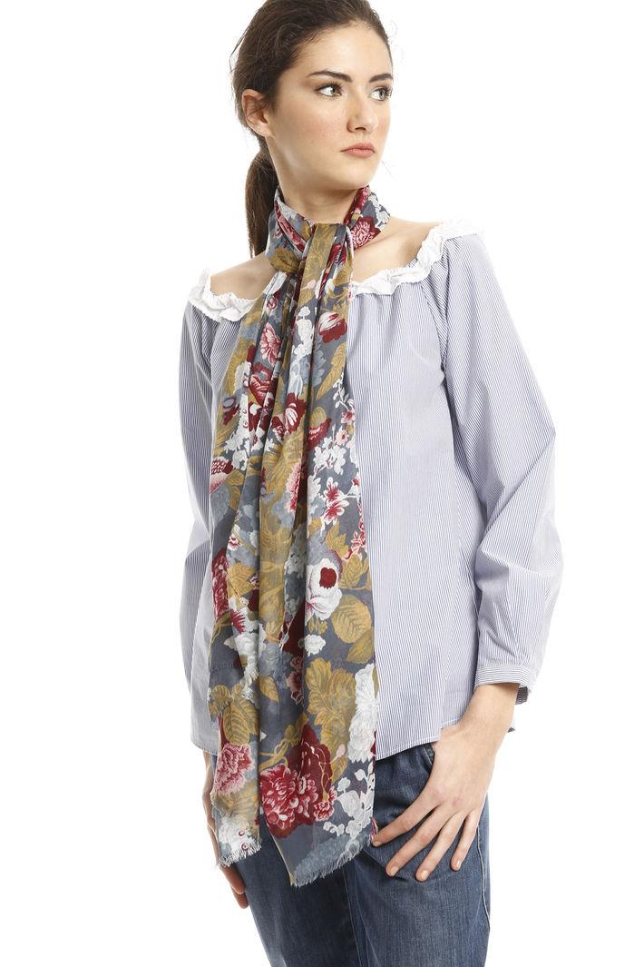 Sciarpa fantasia floreale Fashion Market