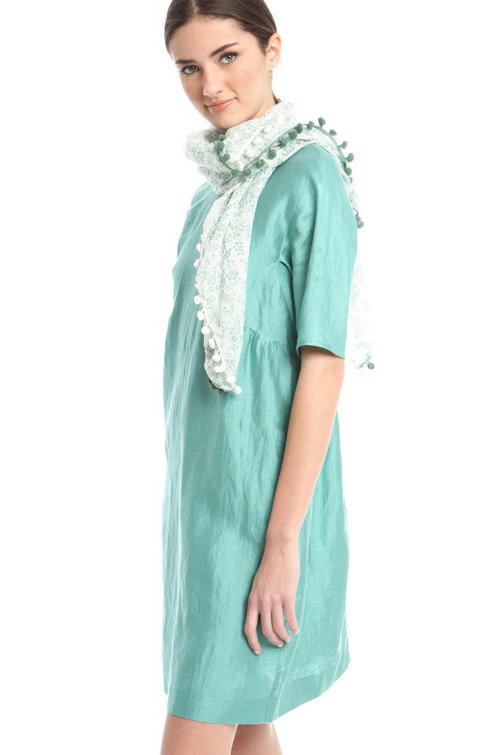 Sciarpa con pompom Fashion Market
