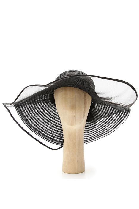 Cappello oversize falda larga Diffusione Tessile
