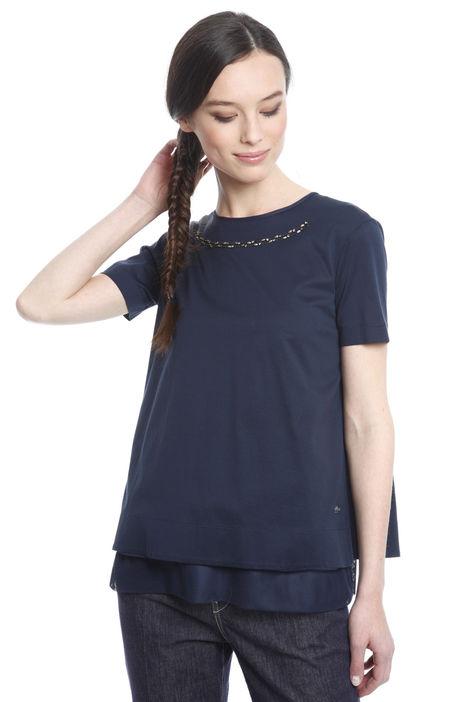 T-shirt con top abbinato Diffusione Tessile